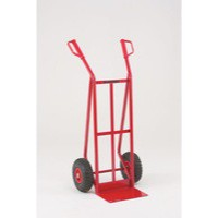 General Purpose Hand Truck Pneumatic Tyres Red 308074