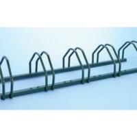 Image for Cycle Rack 5-Bike Capacity Aluminium 309713