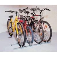 Cycle Rack 4-Bike Capacity Aluminium Code 309714