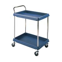 Deep Ledge Trolley 2-Tier Blue BC2636-2DBU 310784