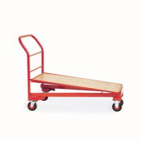 Cash/Carry Trolley Painted 400Kg Red 310792