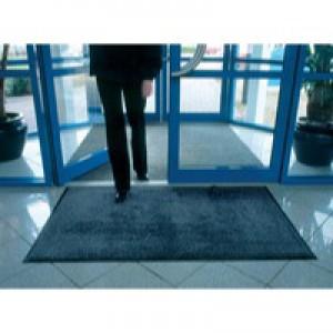 Entrance Mat Washable 1150x1750mm Black/Brown 312469