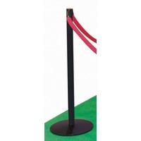 Multi-Post Barrier System Post/Base Black 312931