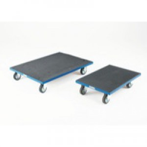 Container Dolly with Anti-Slip Surface Blue 312953