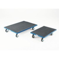 Container Dolly with Anti-Slip Surface Blue 312955