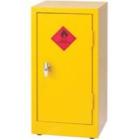 Hazardous Substance Storage Cabinet 28x14x12 inch c/w 1 Shelf Yellow 188737