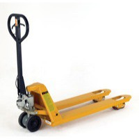 Pallet Truck Braked Tandem Poly Rollers 315086
