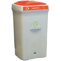 Recycling Envirobin 100 Litre Grey/Orange 315273