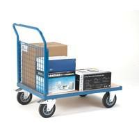 Platform Truck 1000x700mm 1 Mesh Side 315623