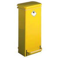Fixed Body Fire Retardant Sack Holder Freestanding 17 Litre 316099