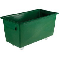 Container Truck Food Tapered Side 316359