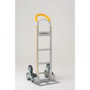 Stairclimbing Hand Truck Capacity 50Kg Aluminium 317674