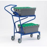Order Picking Trolley Blue 321870