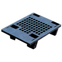 Image for Plastic Recycled Black Pallet 322321