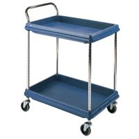 Deep Ledge Trolley PBC2636-2Dbu 2-Tier Blue 322448