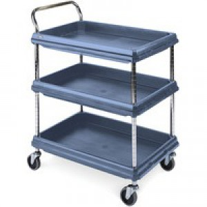 Deep Ledge Trolley PBC2636-3DBU 3-Tier Blue 322451