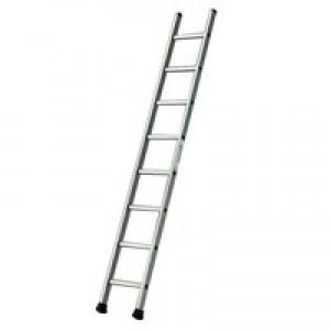 Single Section Aluminium Ladder 2410mm 8-Rungs 323138
