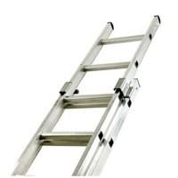 Two Section Push-up Aluminium Ladder 16-Rung 323139