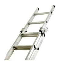 Two Section Push-up Aluminium Ladder 20-Rung 323141