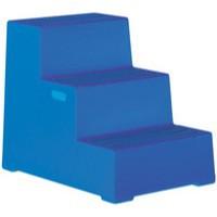 Plastic Safety Step 3-Step Blue 325098