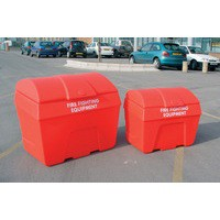 Fire Fighting Bin Store Static 200 Litre Red 325901