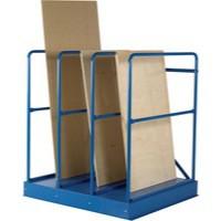 Vertical Sheet Rack Blue 328416
