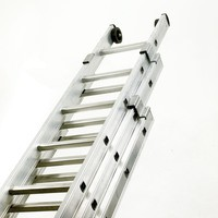 Push-Up Aluminium Ladder 3-Section 2423/010 328666
