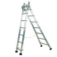 Transformable Aluminium Ladder 2443/009 329051