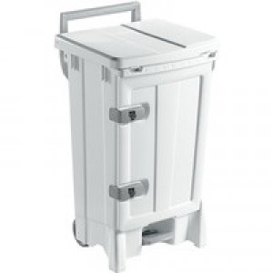 Open Front Bin 90 Litre White/Grey 329128