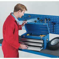 Tool Chest 3 Drawer Blue 329228