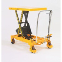 Lifting Table 350Kg Capacity Yellow/Black 329463