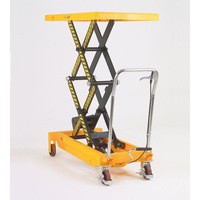 Lifting Table 800Kg Capacity Yellow/Black 329464