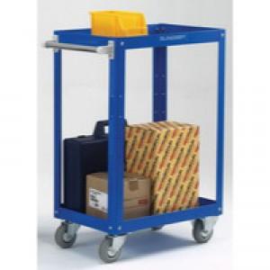 Works 2-Tier Trolley Blue 329932