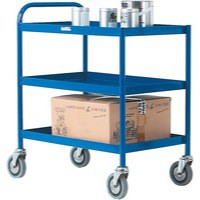 General Purpose Trolley 3 Tier Blue 331493