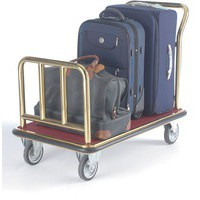 Luggage Trolley Platform Brass 331824