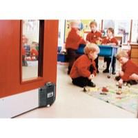 Image for VFM Black Dorguard Fire Door Retainer
