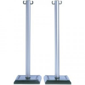 PVC Barrier Posts Pack of 2 349735