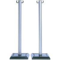 PVC Barrier Posts Pk2 349735