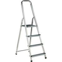 Alumiunium Step Ladder 4 Steps Plus 358738