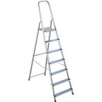 Alumiunium Step Ladder 7 Steps Plus 358741