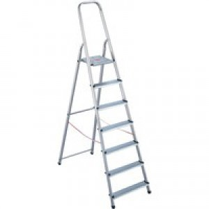 Alumiunium Step Ladder 8 Steps Plus 358742