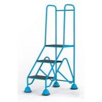 Easy Glide Mobile 3 Step Full Handrail Blue 359253