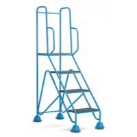 Easy Glide Mobile 4 Step Full Handrail Blue 359257