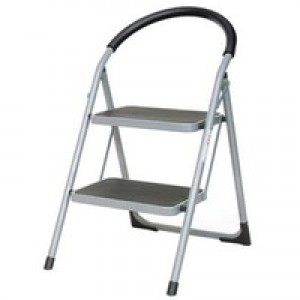 Step Ladder 2-Tread Grey/Blue 359293