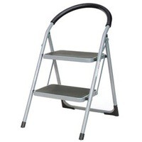 Step Ladder 2 Tread Grey 359293