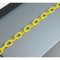 Plastic Chain 6mm Yellow 360072