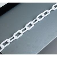 Plastic Chain 6mm White 360073