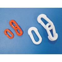 Connecting Links 6mm S Hook Pack of 10 White 360082