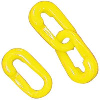 Connecting Links 6mm Joint Pack 10 Yellow 360083