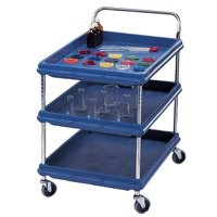 Deep Ledge Trolley BC2030-3DG 3-Tier 365295